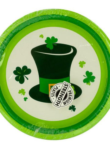 Irish Party Round Plates Set (Available in a pack of 24)