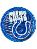 Indianapolis Colts Party Plates (Available in a pack of 18)