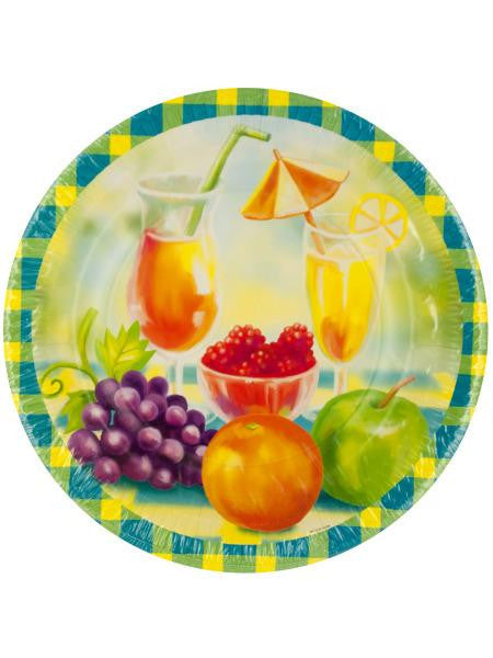 Garden Glory Party Dinner Plates (Available in a pack of 24)