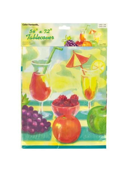 Garden Glory Printed Tablecover (Available in a pack of 24)