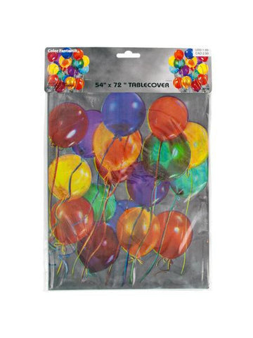 Balloon Party Printed Tablecover (Available in a pack of 24)