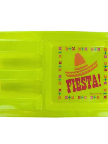 Fiesta Taco Holder Party Tray (Available in a pack of 24)