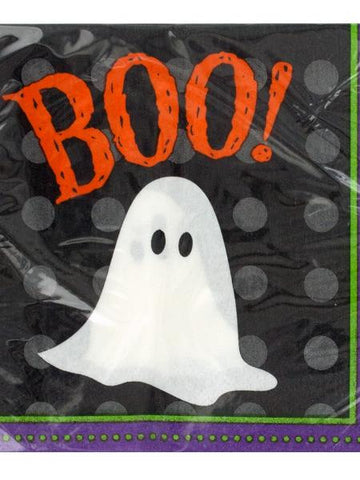 Frightful Friends Halloween Party Napkins (Available in a pack of 24)