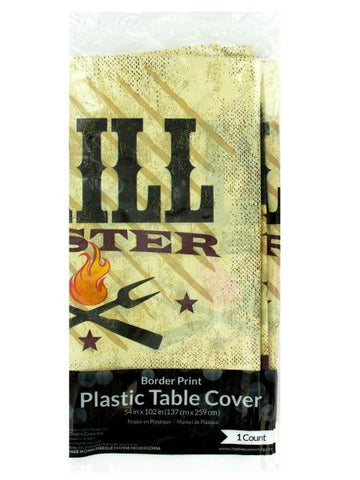 Grill Master Party Table Cover (Available in a pack of 24)