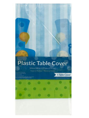 Boy Bear's 1st Birthday Table Cover (Available in a pack of 24)