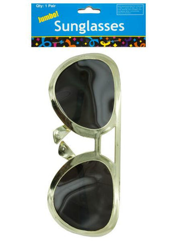 Jumbo Rock Star Party Sunglasses (Available in a pack of 24)