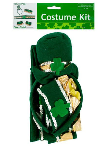 Leprechaun Costume Accessories Kit (Available in a pack of 12)