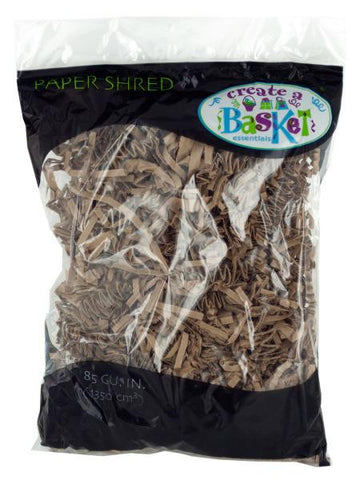 Natural Brown Paper Shred (Available in a pack of 24)