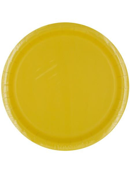 Mimosa Yellow Party Plates (Available in a pack of 24)