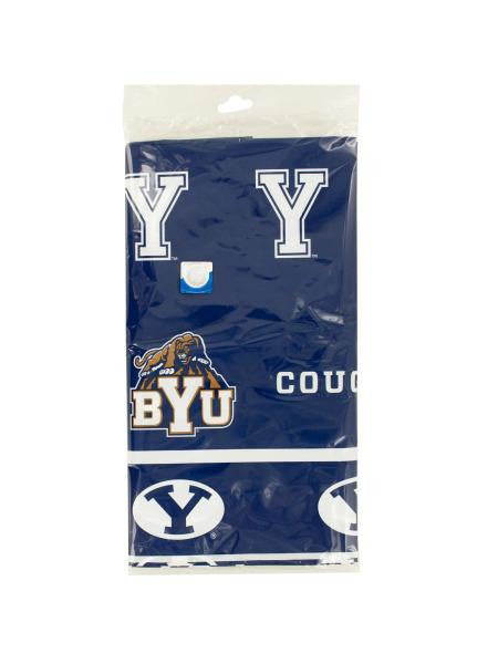 Brigham Young University Plastic Tablecover (Available in a pack of 24)