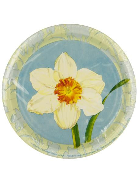 Daffodil Recycled Party Plates (Available in a pack of 24)