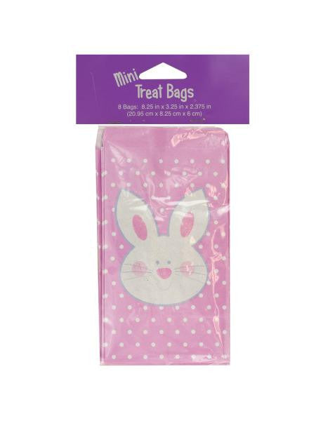 Mini Easter Bunny Treat Bags (Available in a pack of 24)