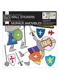 Jumbo Brave Knight Removable Wall Stickers (Available in a pack of 4)