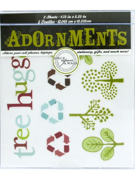 Nature Craft Adornment Stickers (Available in a pack of 24)