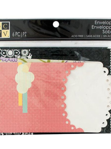 Designer Printed Craft Envelopes (Available in a pack of 24)