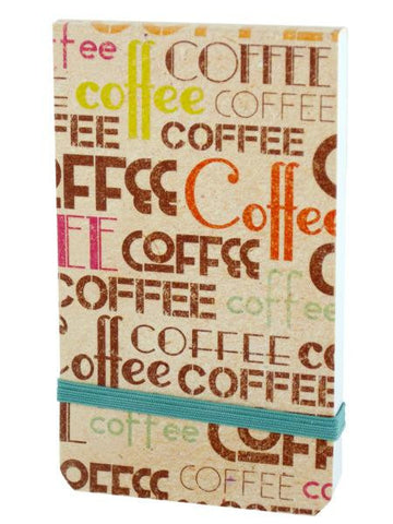 Coffee Mini Note Pad (Available in a pack of 24)