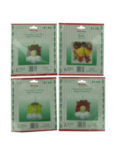 Holiday craft kits (Available in a pack of 18)