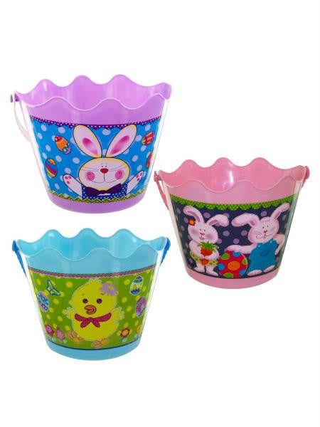Easter Bucket with Handle (Available in a pack of 12)