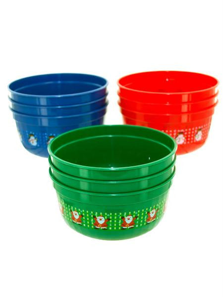 Small Christmas bowls (Available in a pack of 12)
