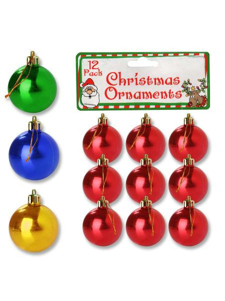 Christmas Ornament Bulbs (Available in a pack of 25)