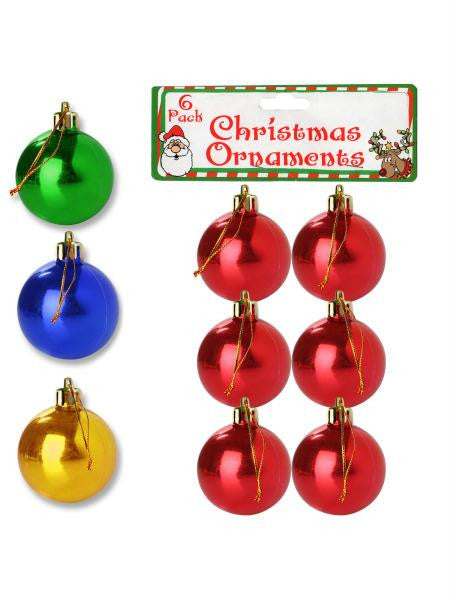 Christmas Ball Ornaments (Available in a pack of 24)