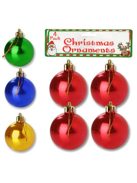 Christmas Ornament Bulbs (Available in a pack of 24)