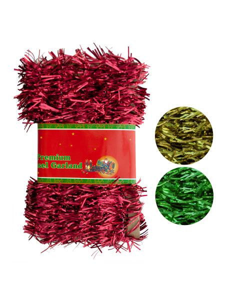 Christmas Tinsel Garland (Available in a pack of 18)
