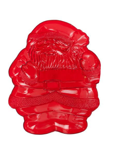 Decorative Santa Claus Tray (Available in a pack of 24)