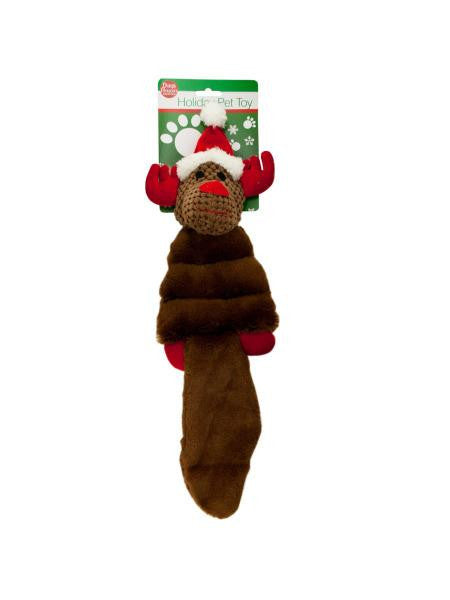 Holiday Crinkle Plush Pet Toy (Available in a pack of 4)