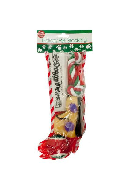 Christmas Stocking with Dog Toys (Available in a pack of 4)