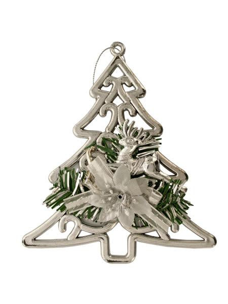 Christmas Tree-Reindeer Hanging Decoration (Available in a pack of 15)