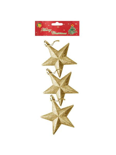 Christmas Star Ornaments (Available in a pack of 24)
