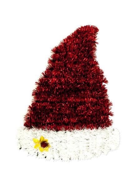 Christmas Santa Hat Wall Decoration (Available in a pack of 12)