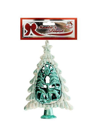 Christmas Glitter Tree Ornament (Available in a pack of 18)