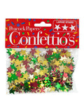 Christmas Stars Holiday Confetti (Available in a pack of 24)