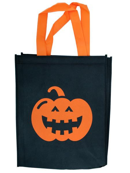 Black Halloween Tote Bag (Available in a pack of 20)