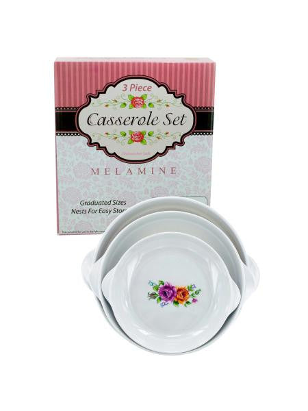 Melamine Casserole Set (Available in a pack of 4)