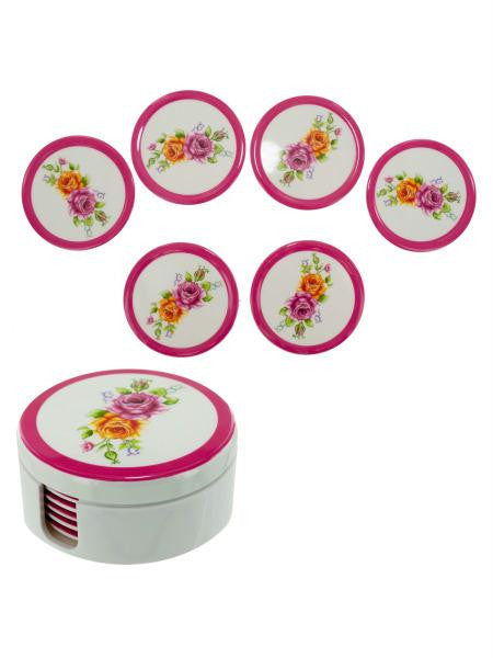 Melamine Coaster Set (Available in a pack of 4)