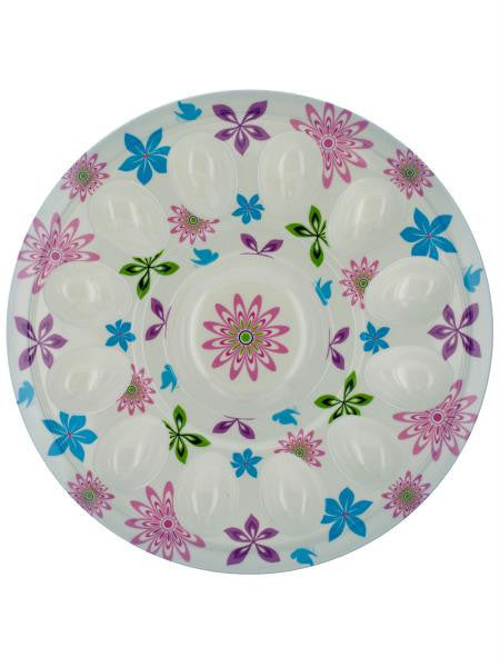 Floral Print Egg Tray (Available in a pack of 5)