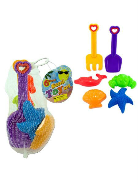 Colorful Sand Toy Set (Available in a pack of 24)