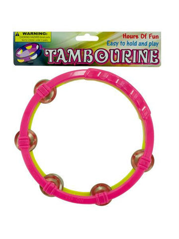 Toy Tambourine (Available in a pack of 24)