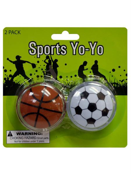 Sports Yo-Yo Set (Available in a pack of 24)