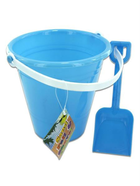 Sand Pail & Shovel (Available in a pack of 12)