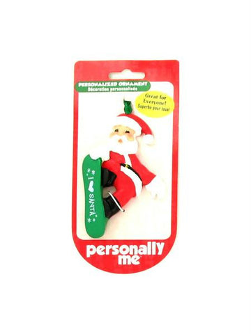 """I (heart) Santa"" ornament (Available in a pack of 24) - Blobimports.com"