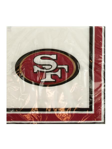 San Francisco 49ers Party Napkins (Available in a pack of 24)