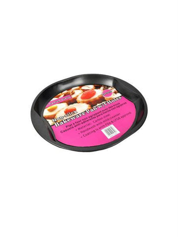 Round Bakeware Pan with Holes (Available in a pack of 4)
