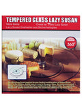 Tempered Glass Lazy Susan (Available in a pack of 1)