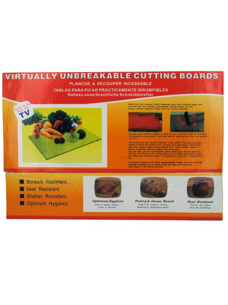 Small Glass Cutting Board (Available in a pack of 6)