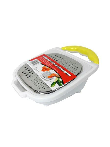 Multi-Functional Grater with Container (Available in a pack of 4)