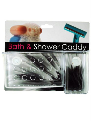 Bath & Shower Caddy with Suction Cups (Available in a pack of 12)